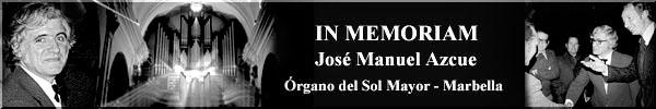 José Manuel Azkue plays works by Johann Sebastian Bach
