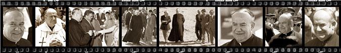 Fotografías inéditas de Monseñor Bocanegra  tomadas por Michael Reckling entre los añs 1970 y 1973